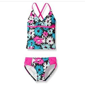 Big Girls' Beach Sport 2-Piece Tankini Swimsuit